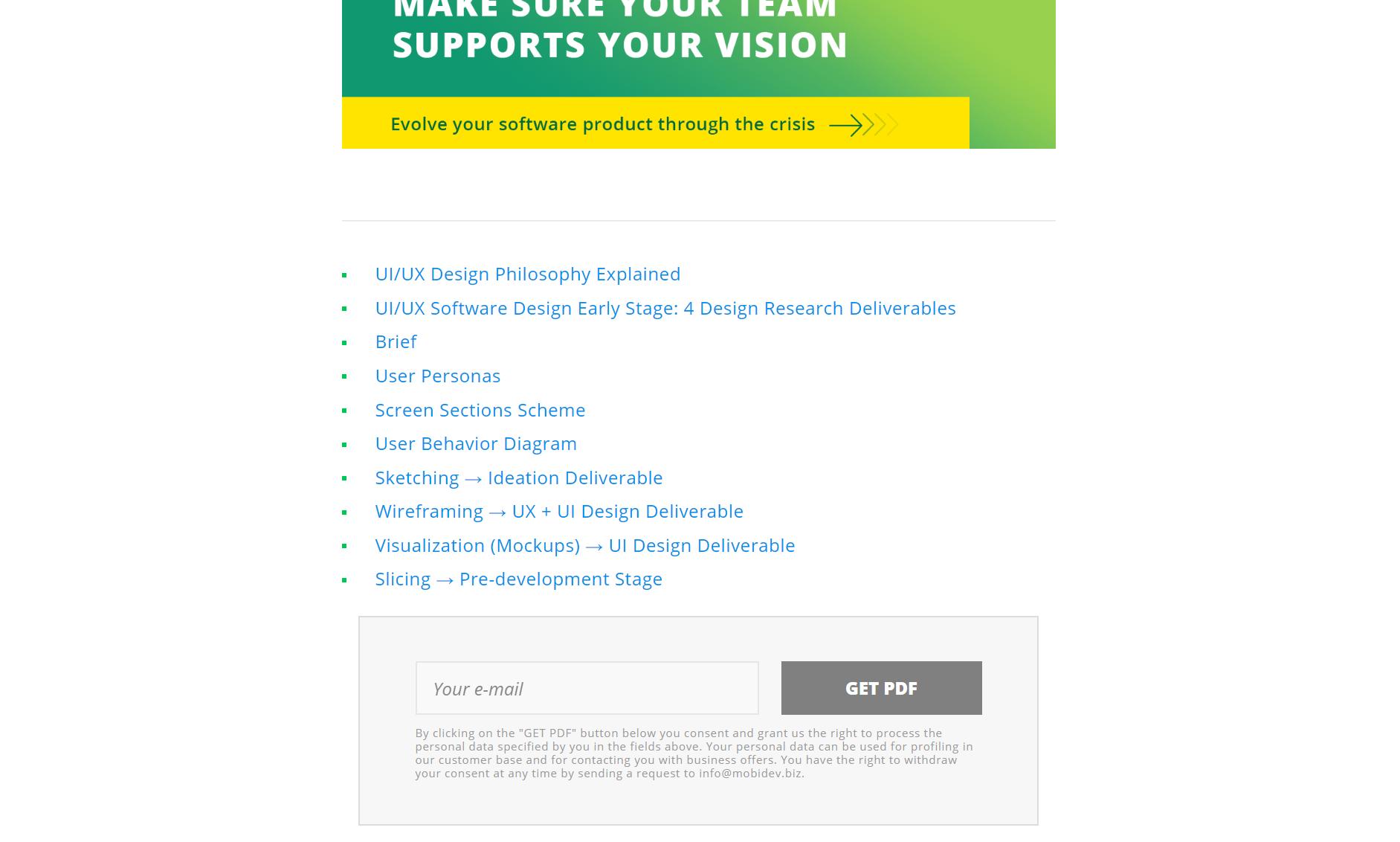 An UI design checklist hosted online