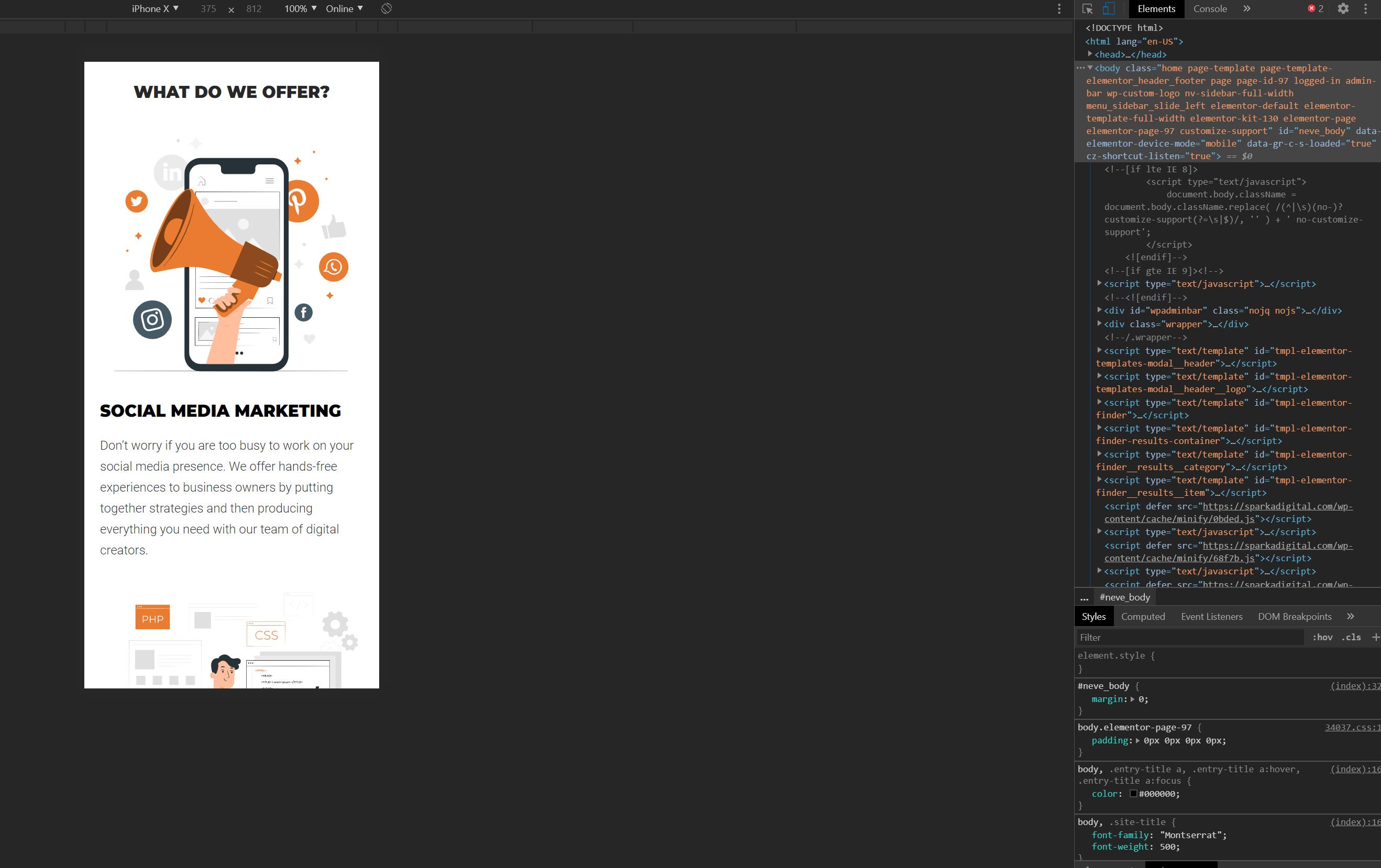A screenshot of Google Chrome's Developer Tool preview