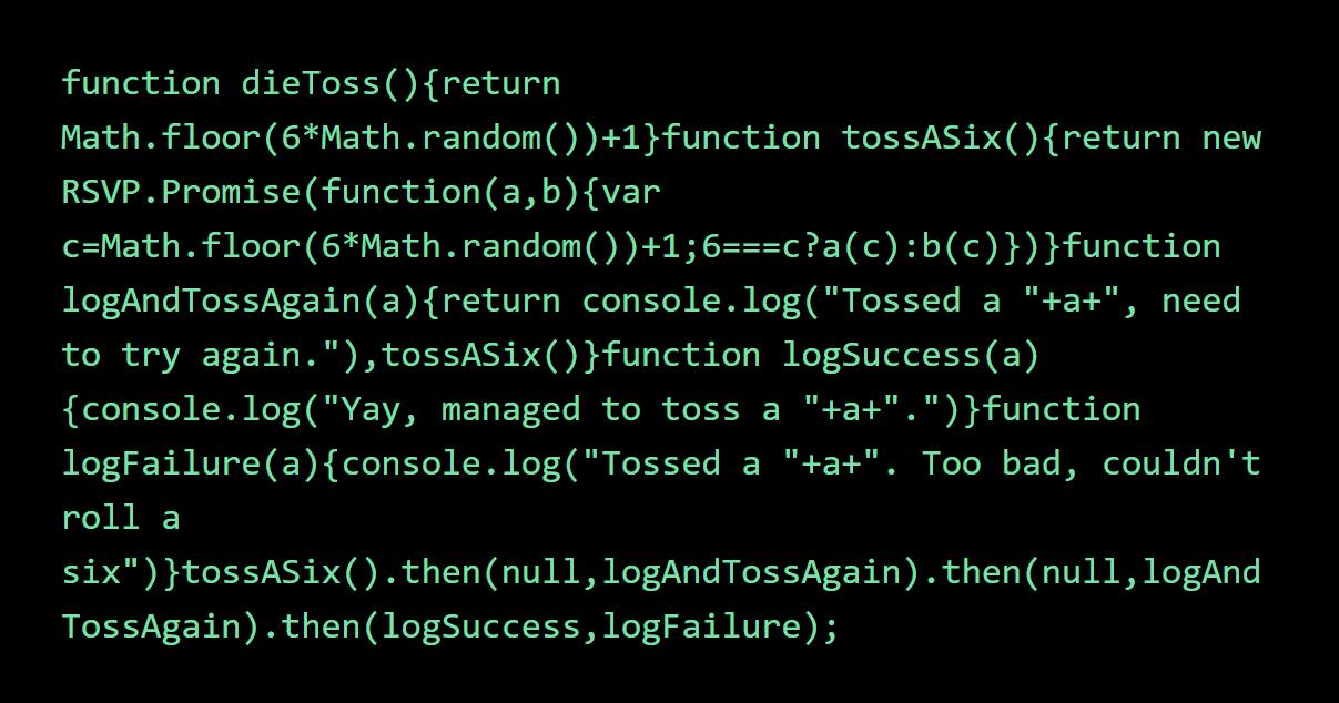 Minified JavaScript code samples